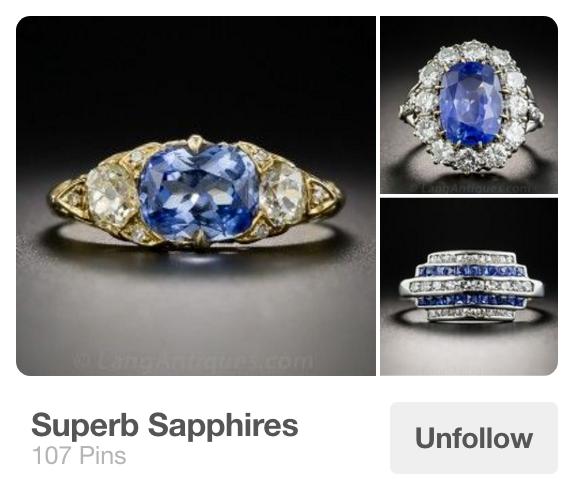 Super Sapphires Pinterest