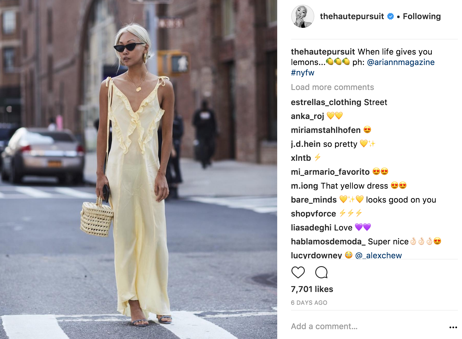 The Haute Pursuit instagram