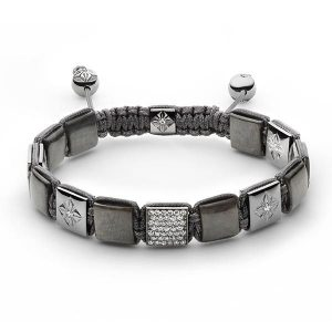 Shamballa Jewels reversible lock bracelet
