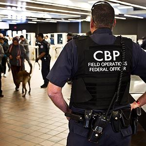 US Customs and Border Patrol officer