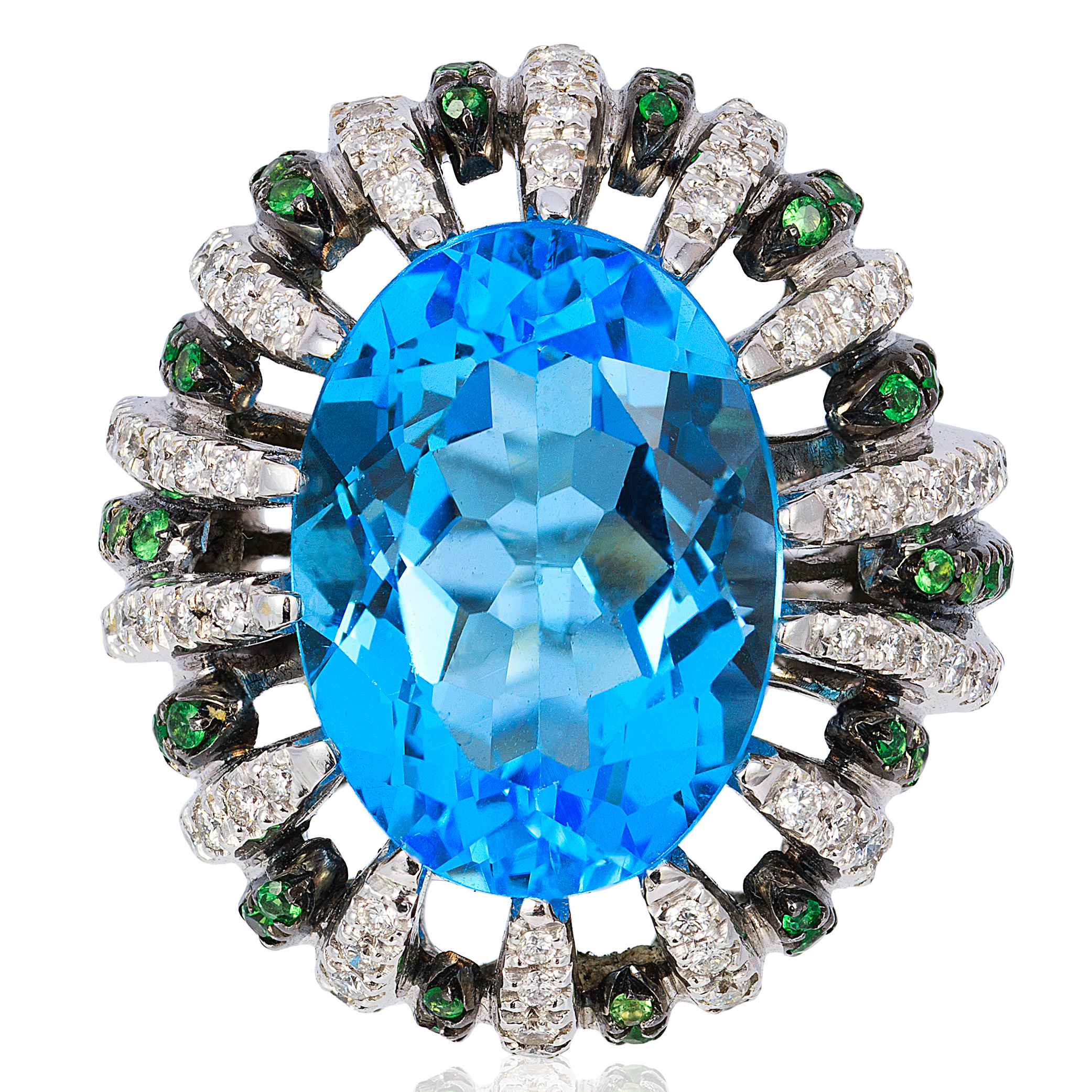 Andreoli blue topaz ring | JCK On Your Market
