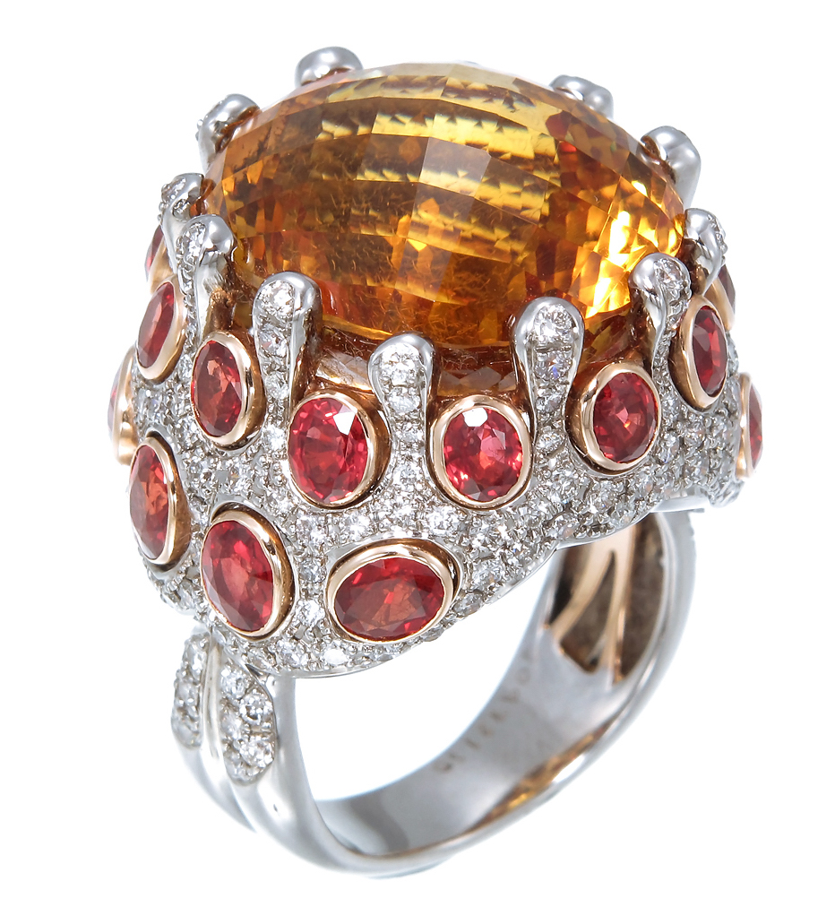 Zorab Atelier citrine ring | JCK On Your Market