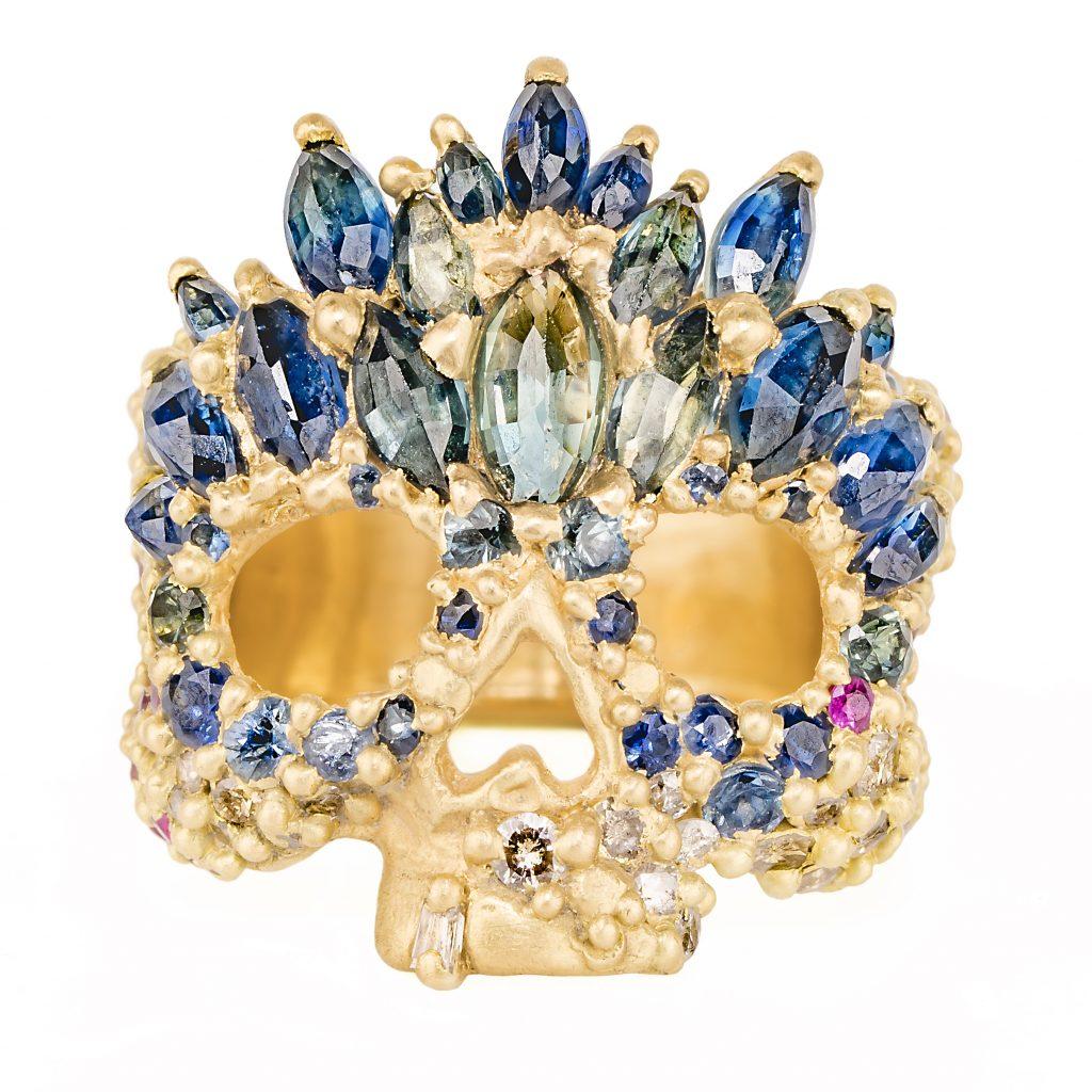 Abelard Skull Ring