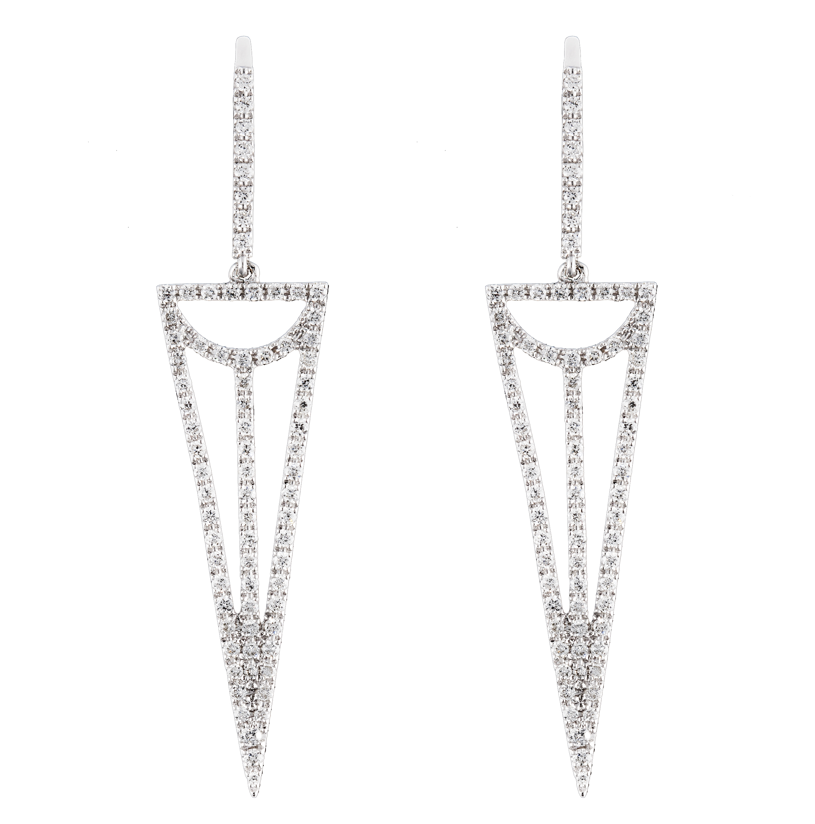 Djula diamond earrings | JCK On Your Market
