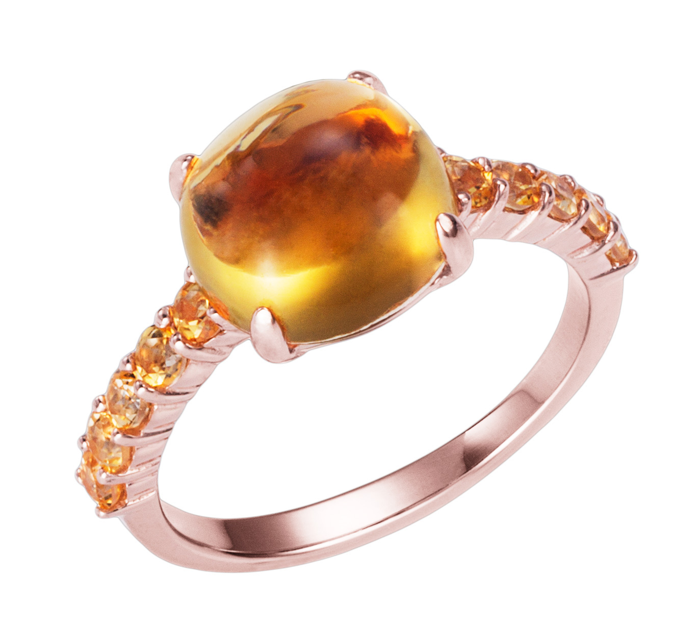 Anabela Chan Spectra citrine ring | JCK On Your Market