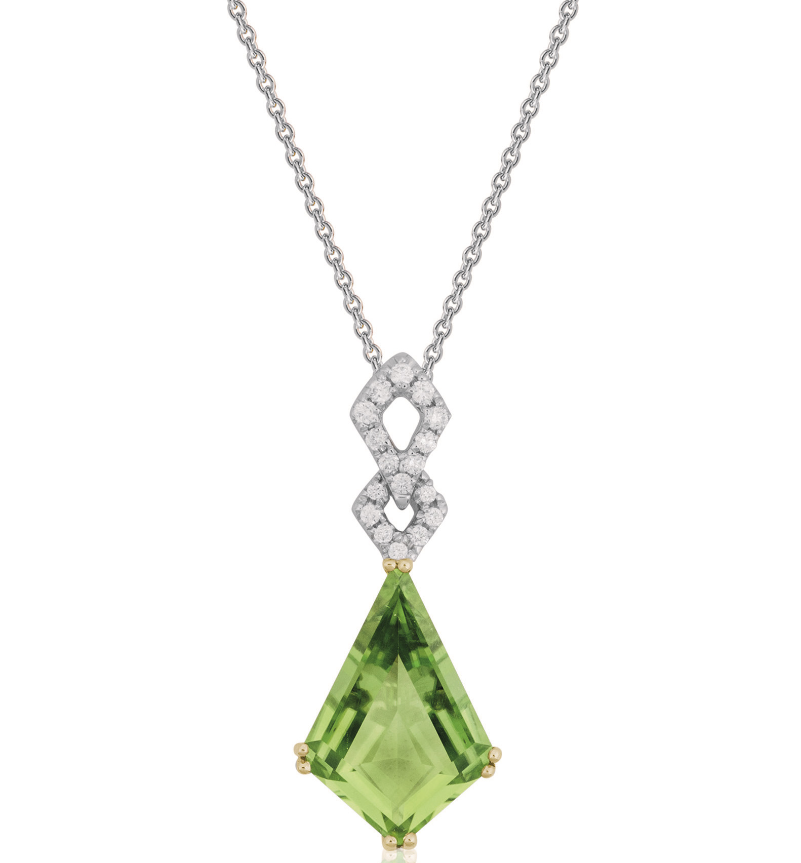 Artistry Ltd. kite peridot pendant | JCK On Your Market