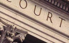 Court building legal stock image