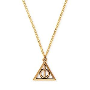 Harry Potter Deathly Hallows Necklace Rafaelian Gold by Alex and Ani