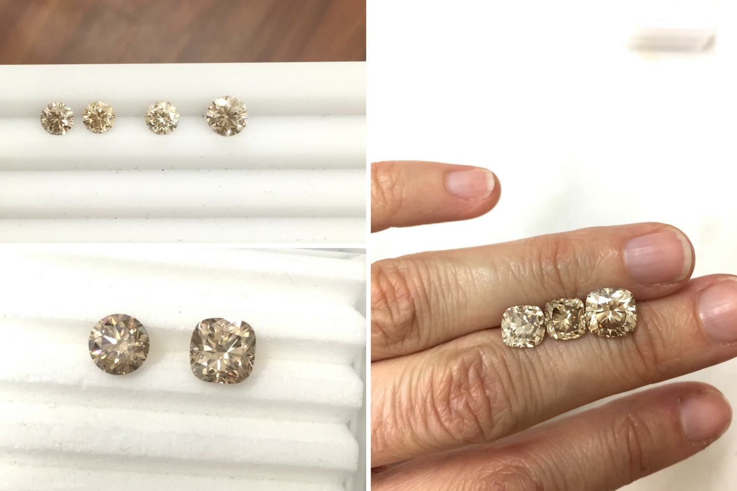 Australian champagne diamonds from Chicco