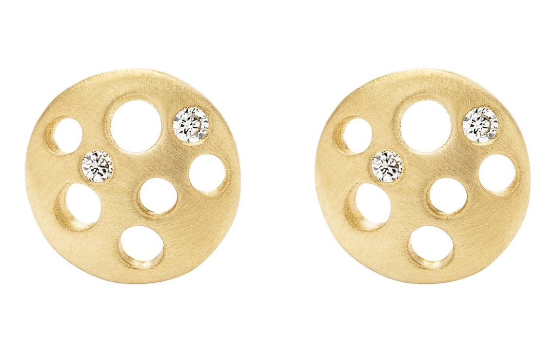 Dana Bronfman Coin stud earrings | JCK On Your Market