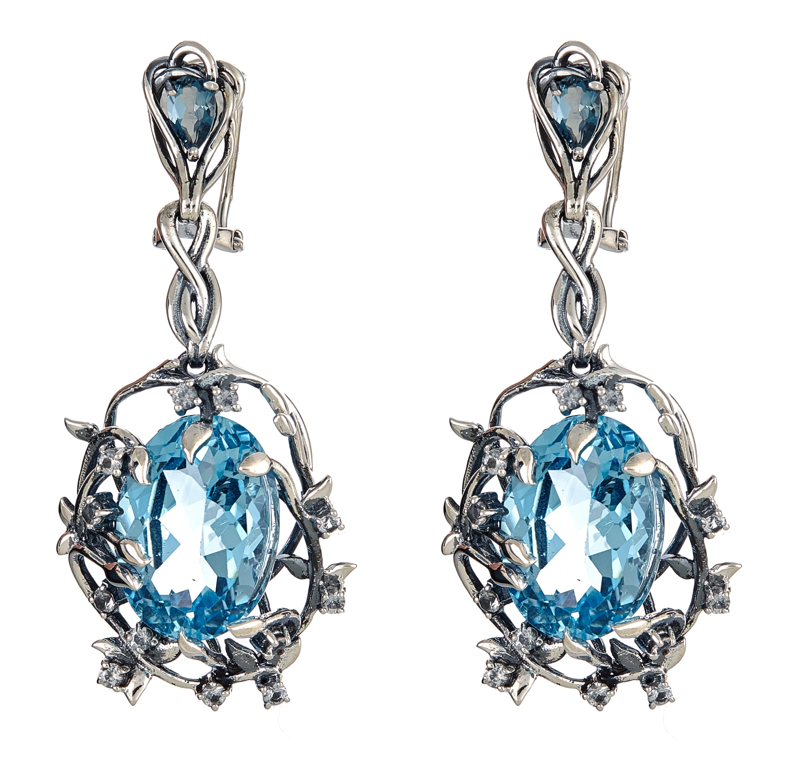 Cristina Sabatini Iris Blossom earrings | JCK On Your Market