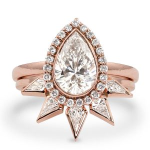 Julez Bryant Gia wedding set ring