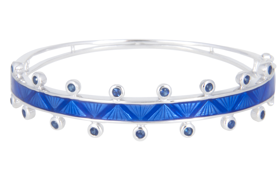 M. Spalten blue Chroma bracelet | JCK On Your Market