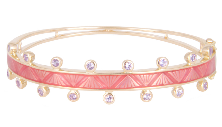 M. Spalten pink Chroma bracelet | JCK On Your Market