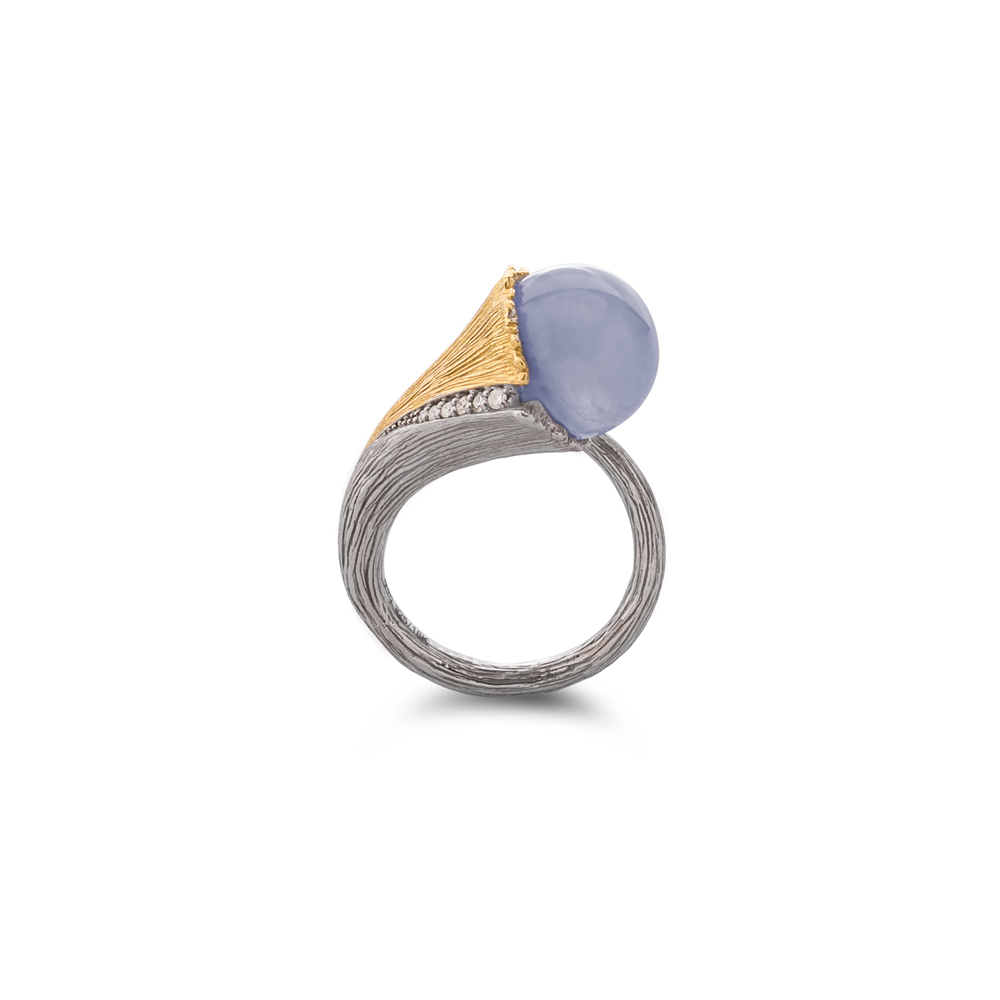 Butterfly Ginkgo Ring