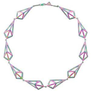 Moratorium Kimers iridescent necklace
