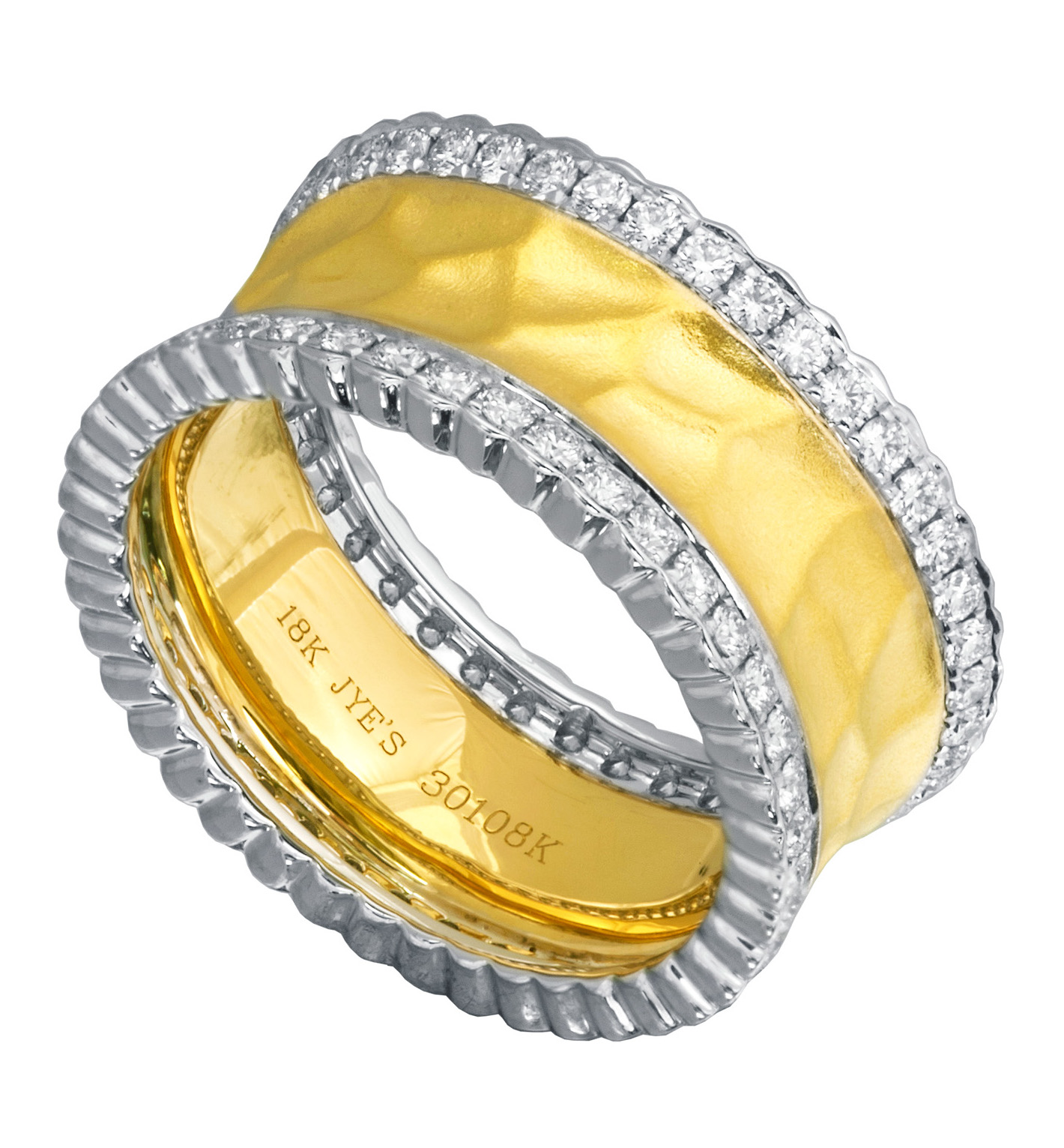 Jye Luxury two-tone ring | JCK On Your Market