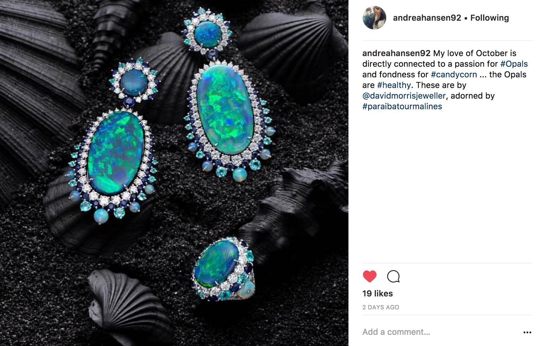 @andreahansen Instagram | JCK Social Setting