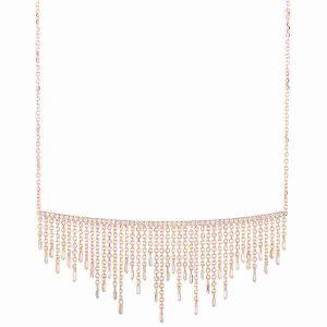 Suzanne Kalan Cascade Fireworks short fringe necklace