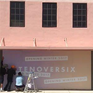Tenoversix Miami storefront constuction