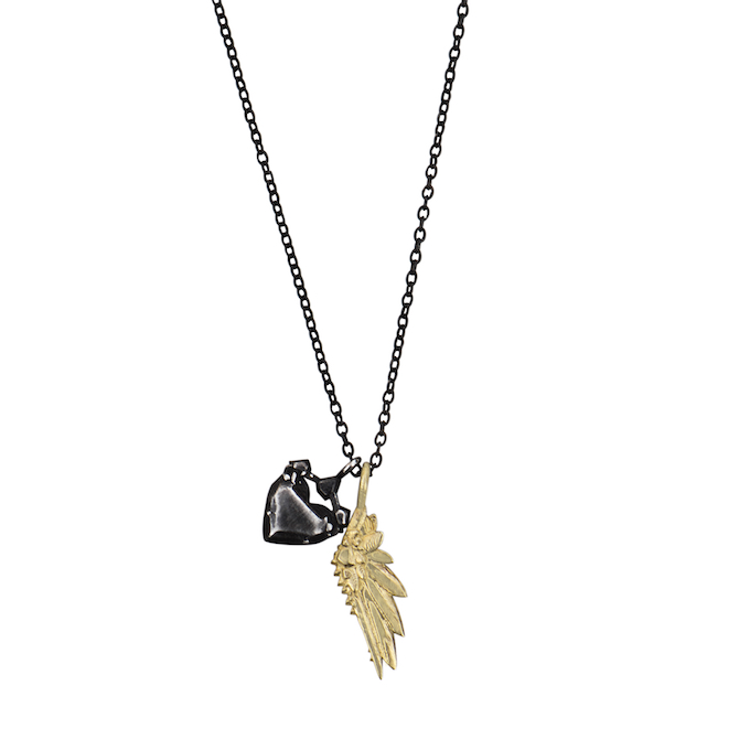 1 Karch Wolfe Mini Victory and Love Struck Necklace