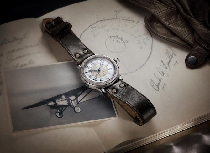 Lindbergh original hour angle watch longines