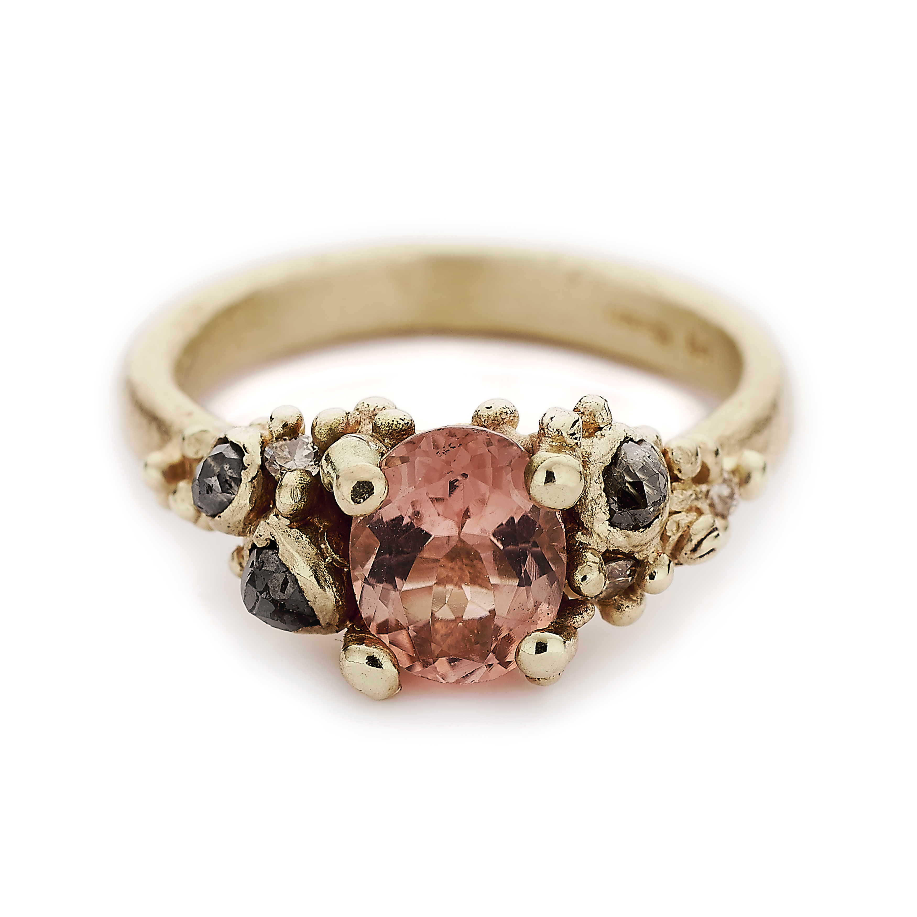 round with ring gray editorial cut pumpkin and diamond jck rose article spice grey brilliant rings tourmaline in pink champagne yellow ct diamonds gold raw engagement