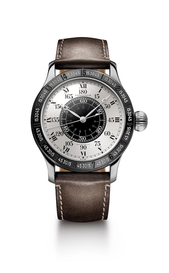 90th annviversary longines hour angle lindbergh watch