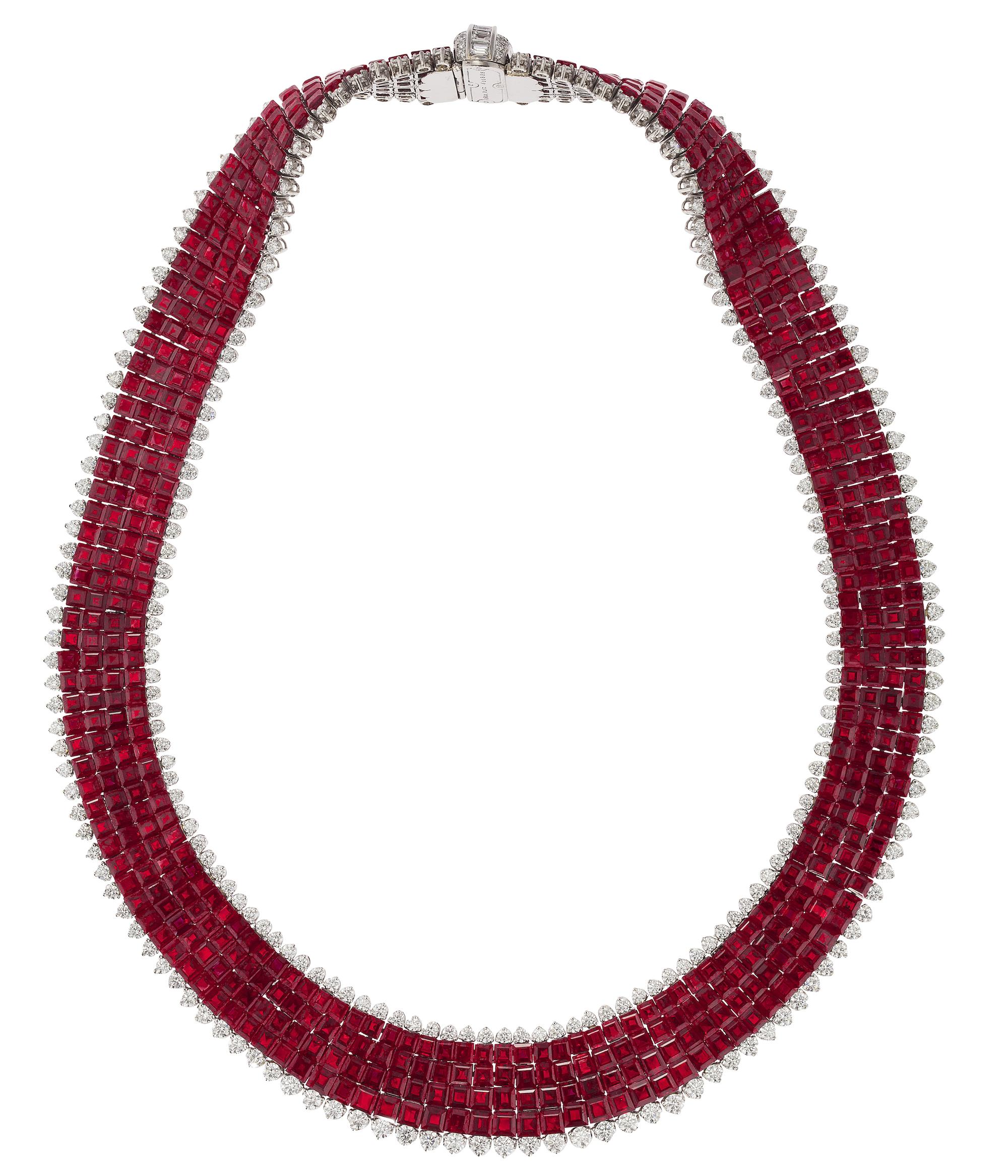 Oscar Heyman ruby necklace | JCK On Your Market