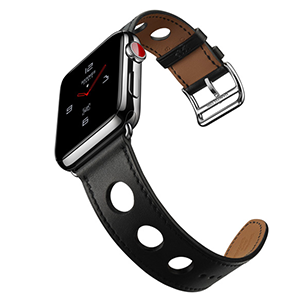 new Apple Watch Hermes leather Rallye strap