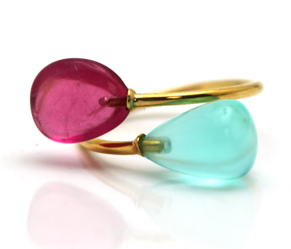 Tresor tourmaline and opal ring | JCK On Your Market