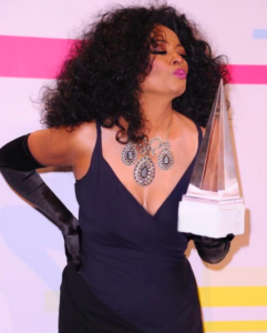 Diana Ross American Music Awards 2017 necklace