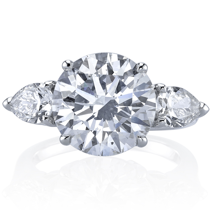 Joshua J three-stone diamond ring | JCK On Your Market