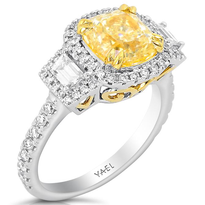 Yael Designs yellow diamond ring | JCK On Your Market