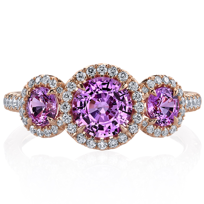 Omi Prive three stone ring | JCK On Your Market