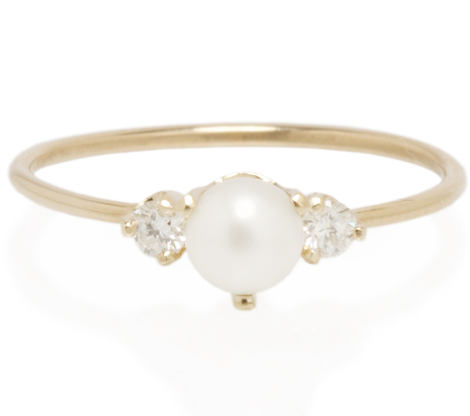 Zoe Chicco pearl and diamond ring | JCK On Your Market
