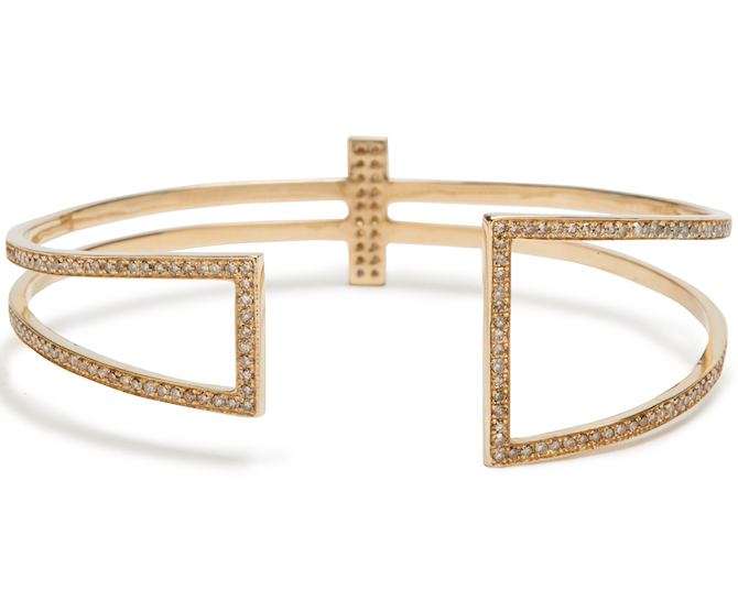 Lee Jones Geometric cuff bracelet | JCK On Your Market