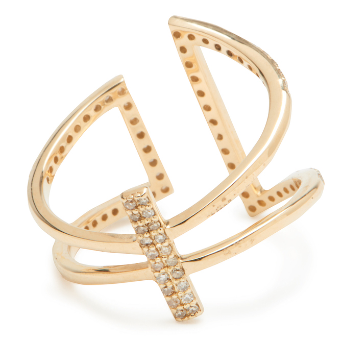 Lee Jones Geometric Bar ring | JCK On Your Market