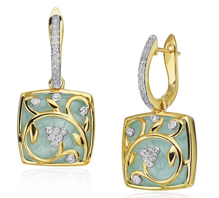 Gumuchian Mosaic tile earrings | JCK On Your Market