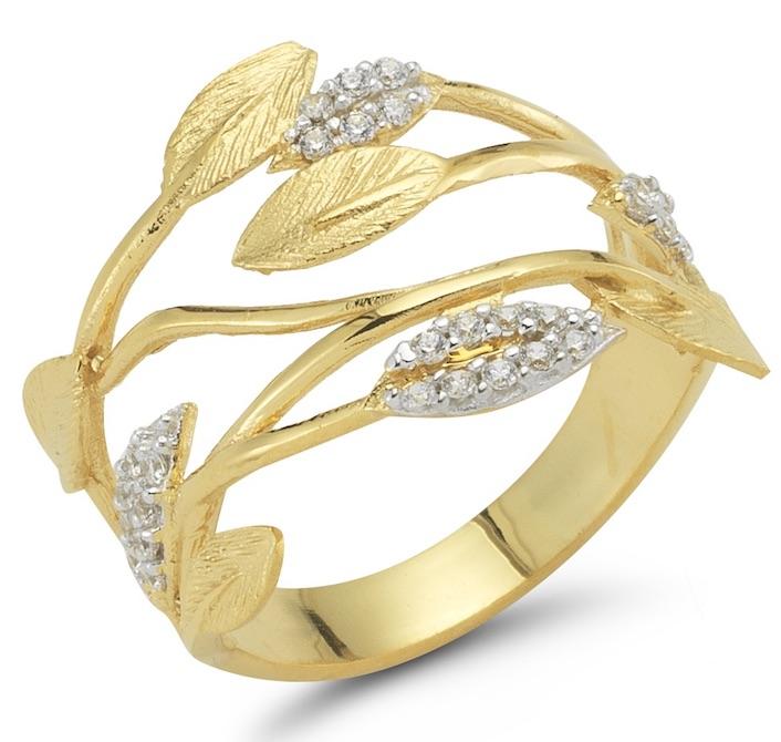 I. Reiss vine ring | JCK On Your Market