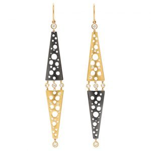 Dana Bronfman Helena mirroring earrings | JCK On Your Market