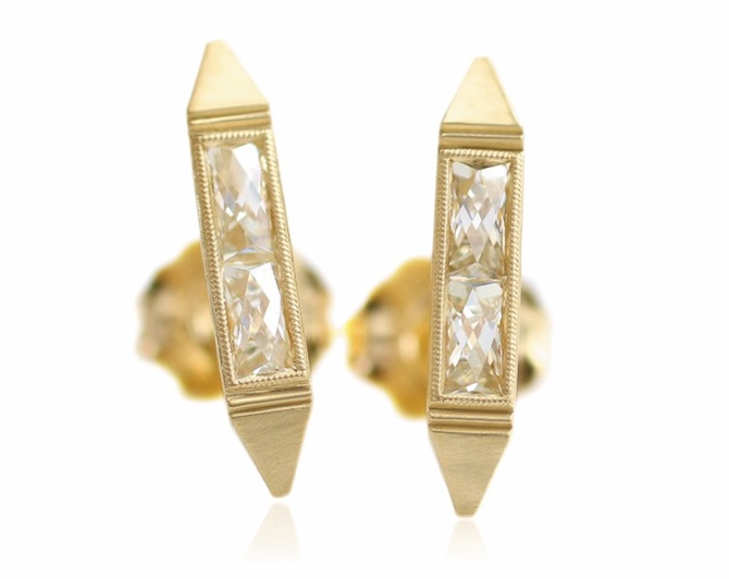 Erika Winters Estella bar earrings | JCK On Your Market