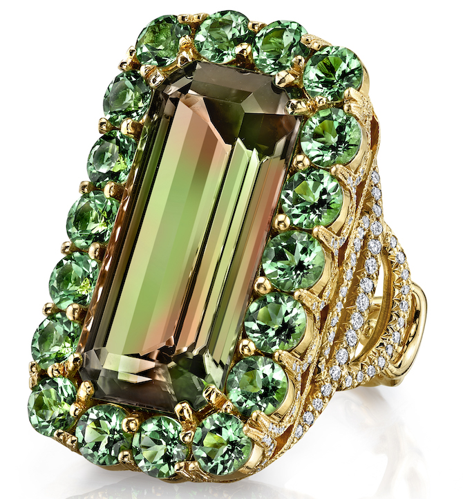 Erica Courtney Byzantine Csarite ring | JCK On Your Market