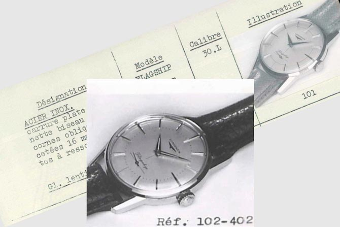 Longines Flagship watch 1957