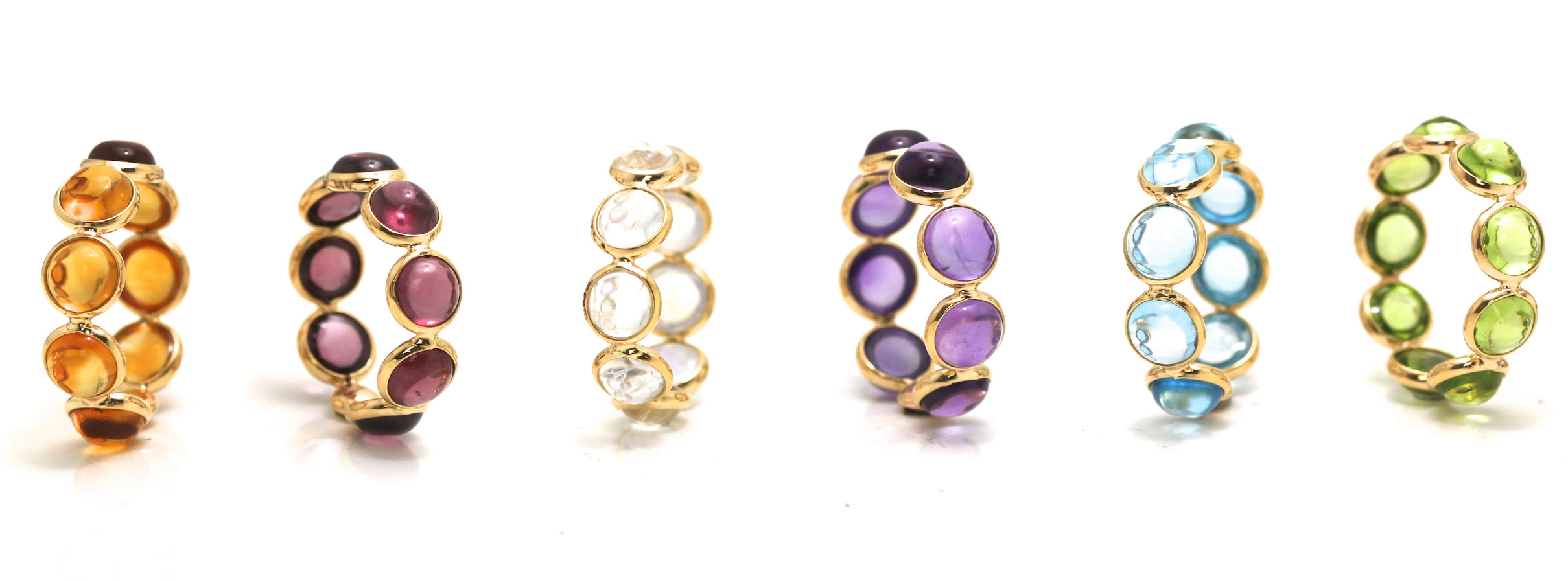 Tresor gemstone stacking bands| JCK On Your Market