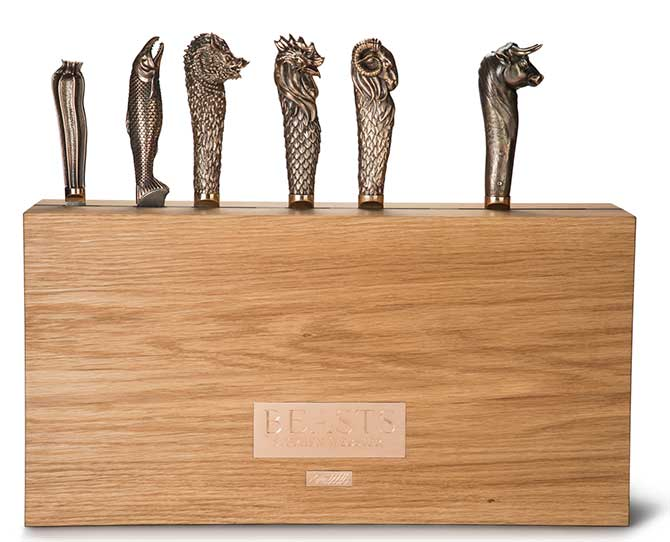 Stephen Webster beasts knife set