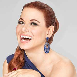 actress Debra Messing