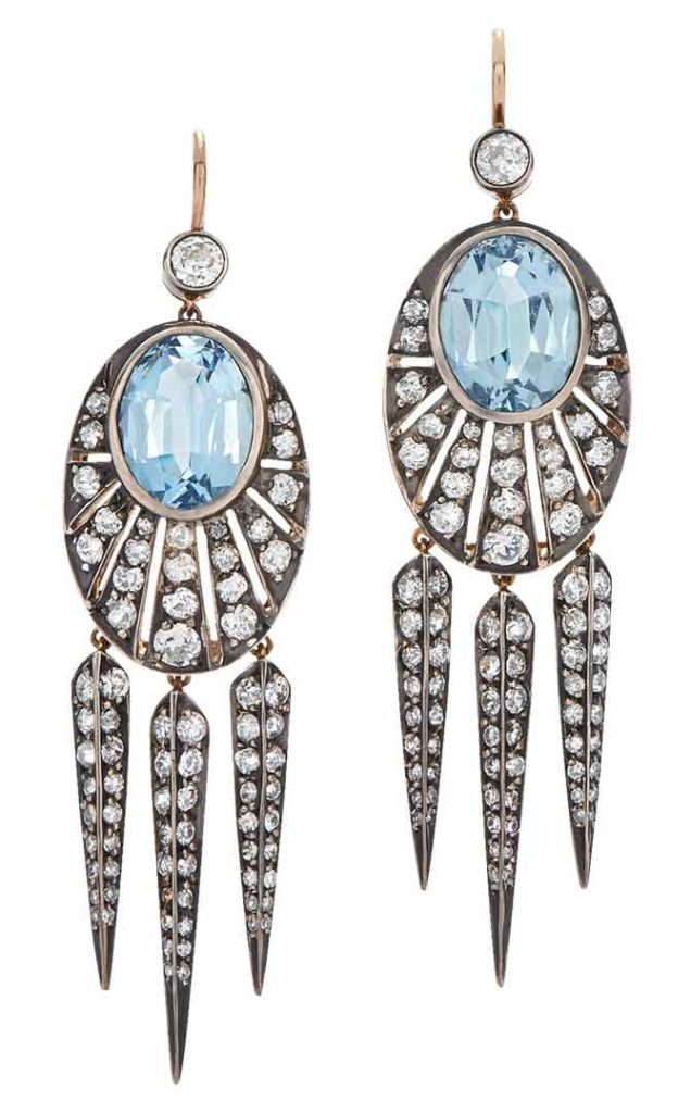 Fred Leighton signed earrings
