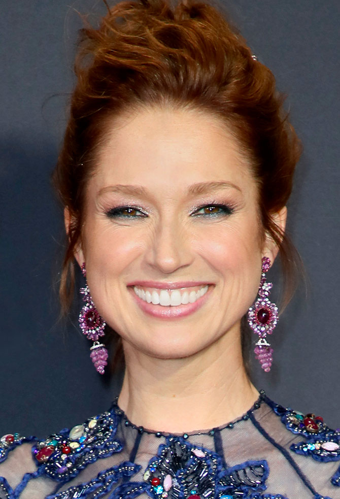 Ellie Kemper at 2017 Emmy Awards