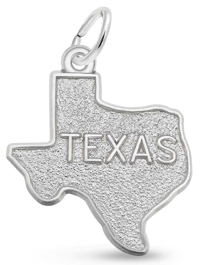 sterling silver Texas charm